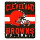 お取り寄せ お取り寄せ NFL ブラウンズ ソフトフリース スロー ブランケット ノースウエスト/Northwest