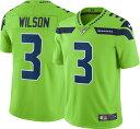 NFL シーホークス ラッセル・ウィルソン ユニフォーム/ジャージ カラーラッシュ リミテッド ナイキ/Nike