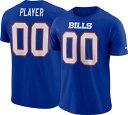 NFL ビルズ ジョッシュ・アレン Tシャツ プライド ネーム&ナンバー ナイキ/Nike ロイヤル