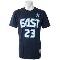 NBA イースト レブロン・ジェイムス Tシャツ 2009 オールスターゲーム プレイヤー ミッチェル&ネス/Mitchell & Ness ネイビーの画像