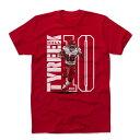 NFL チーフス タイリーク・ヒル Tシャツ Player Art Cotton T-Shirt 500Level レッド