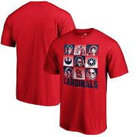 MLB カージナルス Tシャツ スターウォーズ レッドの画像