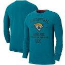 NFL ジャガーズ Tシャツ 2019 サルート トゥ サービス サイドライン パフォーマンス ロング スリーブ ナイキ/Nike ティール【1911NFL変更】
