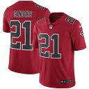 NFL ディオン・サンダース ファルコンズ ユニフォーム/ジャージ カラーラッシュ リミテッド ナイキ/Nike レッド