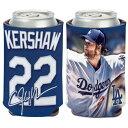 MLB クレイトン・カーショー ロサンゼルス・ドジャース Can Cooler 12 oz. 缶クーラー ウィンクラフト/WinCraft