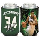 NBA ヤニス・アデトクンボ ミルウォーキー・バックス Can Cooler 12 oz. 缶クーラー ウィンクラフト/WinCraft