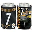 NFL ベン・ロスリスバーガー スティーラーズ Can Cooler 12 oz. 缶クーラー ウィンクラフト/WinCraft