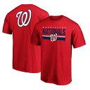 ショッピングゲーム MLB ワシントン・ナショナルズ Tシャツ チーム ロゴ エンド ゲーム レッド