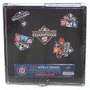 MLB ワシントン ナショナルズ ピンバッチ 2019 ワールドシリーズ 優勝記念 Commemorative Pin Set PSG