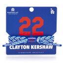 MLB クレイトン・カーショー ロサンゼルス・ドジャース クラシック ブレイデッド ブレスレット RASTACLAT