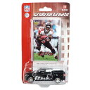 NFL ウォリック・ダン ファルコンズ Gridiron Greats Replica Diecast Car with Card Upper Deck