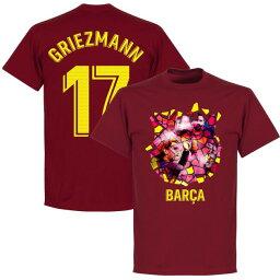 SOCCER アントワーヌ・<strong>グリーズマン</strong> バルセロナ Tシャツ Gaudi Photo T-Shirt RETAKE チリ