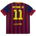 ネイマール ユニフォーム FCバルセロナ ナイキ Nike ホーム 2013-14 レプリカ メンズ 半袖 ジャージ ラ・リーガ