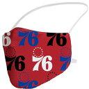 76ers シクサーズ マスク NBA フェイスカバー 大人用 プライマリーロゴ