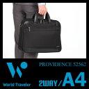エース ワールドトラベラー プロビデンス ビジネスバッグ メンズ 軽量 2WAY ブリーフケース A4 Ace World Traveler Providence 52562