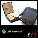 ビアンキ 二つ折り財布 日本正規品 財布 革 本革 レザー メンズ レディース Bianchi BIA1004