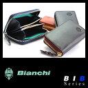 ビアンキ メンズ コインケース 日本正規品 パスケース付 小銭入れ 革 本革 レザー ミニ コンパクト メンズ レディース Bianchi BIB1501