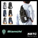 【緊急開催中!ワンエントリーでP12倍!8/19(日)23:59まで】ビアンキ ボディバッグ ワンショルダーバッグ Bianchi NBTC-01