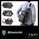 ビアンキ ボディバッグ 日本正規品 3WAY ワンショルダーバッグ ショルダーバッグ クラッチバッグ 防水 メンズ Bianchi TBPI-06