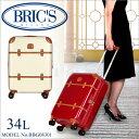 ≪6/26(日)20時より4時間限定★ワンエントリーでP19倍!≫ブリックス ベラージオ スーツケース 34L 機内持ち込み イタリア ブランド BRIC'S ...