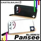 Castelbajac 长款钱包【pansee】【CASTELBAJAC PANSEE】【059614】【钱包/钱包/钱包】【圆拉锁】【男士】【女士】【包】【高尔夫球】【带】【音乐gifu[カステルバジャック 長財布【パンセ】【CASTELBAJAC PANSEE】【