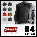コールマン アトラス ビジネスバッグ 3WAY リュック ブリーフケース ミッション 18L B4 COLEMAN ATLAS P20Aug16