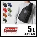 コールマン アトラス ボディバッグ ワンショルダーバッグ スリングバッグ 5L COLEMAN ATLAS