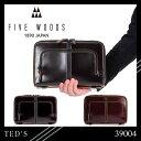 ★ただいま開催中!楽天カードでP19倍!ファイブウッズ テッズ クラッチバッグ 39004 FIVEWOODS TED'S A5 革 本革 レザー フォーマル ...