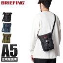 【楽天カード24倍|10/20限定】ブリーフィング バッグ ショルダーバッグ メンズ ブランド 斜めがけ かっこいい 縦型 BRIEFING bra201l21