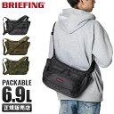 【楽天カード24倍|10/20限定】ブリーフィング バッグ ショルダーバッグ メンズ ブランド 斜めがけ かっこいい 軽量 BRIEFING bra201l27