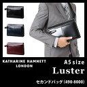 キャサリンハムネット セカンドバッグ ラスター KATHARINE HAMNETT Luster 490-8000 メンズ