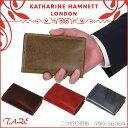 キャサリンハムネット ターゼ 二つ折り財布 KATHARINE HAMNETT TAZE 490-56004 革財布 メンズ レディース