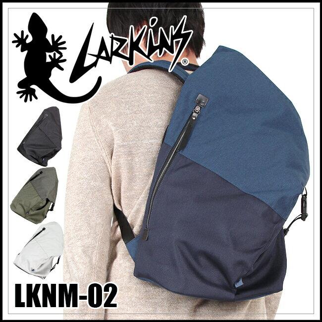 【まもなく終了!楽天カードでP18倍〜!10/23(火)9:59まで】【在庫限り】ラーキンス リュック トライアングルシルエットのお洒落なバッグ LARKINS LKNM-02