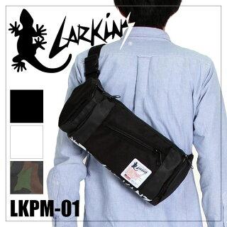 ラーキンス/ボディバッグ【LARKiNS】【LKPM-01】【ワンショルダーバッグ】【メンズ/レディース】【ポイント10倍】【送料無料】【RCP】【楽ギフ_包装】