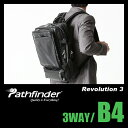 パスファインダー レボリューション3 ビジネスバッグ メンズ 3WAY ブリーフケース B4 PATHFINDER Revolution 3 PF5402B