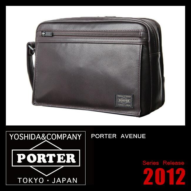 吉田カバン ポーター アメイズ ��カンドバッグ ポーチ クラッチバッグ 本革 革 レザー PORTER 022-03797