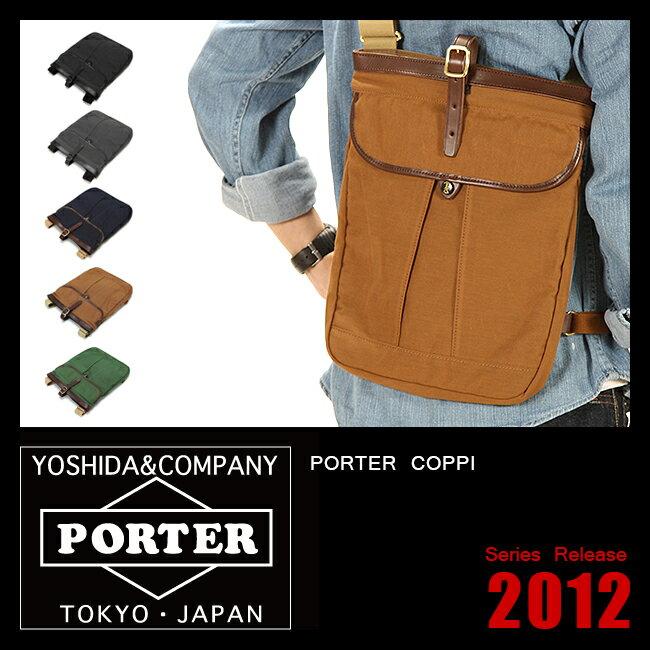 吉田カバン ポーター コッピ ショルダーバッグ iPad サコッシュ PORTER 571-09746