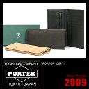 吉田カバン ポーター デプト 財布 長財布 革 PORTER 140-03719