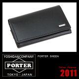 吉田カバン ポーター シーン キーケース 4連式 カード収納 メンズ ブランド PORTER 110-02923