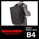 イノベーター innovator ビジネスバッグ 3way 軽量 通勤用 リュック ブリーフケース B4 GI-5301CD 10P28Sep16