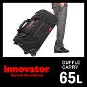 イノベーター ボストンキャリーバッグ 65L 軽量 大容量 2輪 ソフトキャリー コーデュラナイロン innovator GI-5322CD