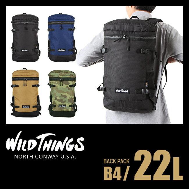 ワイルドシングス スクエア バックパック WT-380-0002