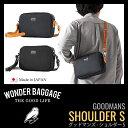 ショルダーバッグ メンズ レディス WONDER BAGGAGE ワンダーバゲージ GOODMANS SHOULDER S グッドマンズ WB-G-006 ユニ...