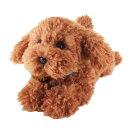 ひざわんこ トイプードルBR(P-3032)(犬、いぬ、イヌ、ぬいぐるみ、人形、玩具、おもちゃ、キャ...