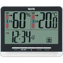 楽天セレクトプラスタニタ デジタル温湿度計  ブラック TT538BK 【送料無料】(インテリア雑貨、温度計、湿度計、エアコン設定温度、省エネグッズ)