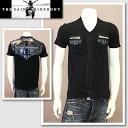 【THE SAINTS SINPHONY/セインツシンフォニー】BLACK SHEEP・Tシャツ(半袖・Vネック・ブラック・BLK)/メンズ【インポート】【セレカジ】【正規品】