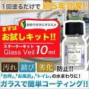 【メール便送料無料】【水まわり用 ガラスコーティング剤】お試...