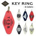 TCSS,ティーシーエスエス/2016年FALL/キーホルダー・キーリング/KEY RING・DGC1617/6カラー 【あす楽 対応】