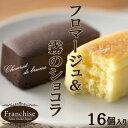 【5400円以上 送料無料】半熟チーズケーキ&濃厚チョコケー...