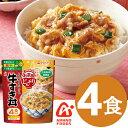 アマノフーズ お茶碗どんぶり 牛すき丼(4食入り) / フリーズドライ インスタント 天野実業